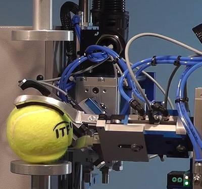 pneumatic tennis machine